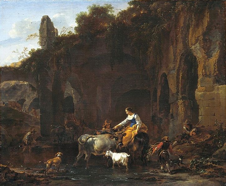 725px-Shepherds_beside_Roman_ruins