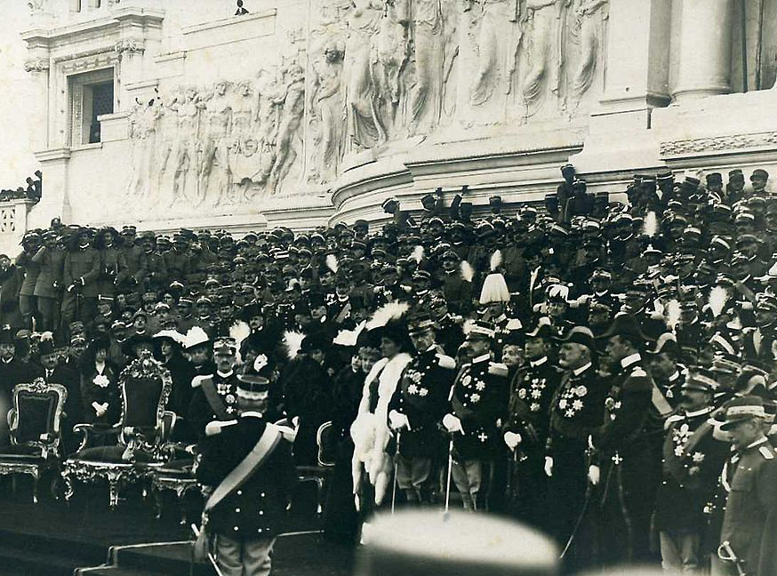 Inaugurazione_del_Vittoriano_nel_1911
