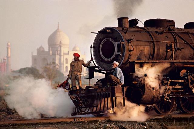Taj Mahal e treno