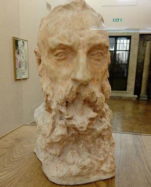 Claudel. busto di Rodin