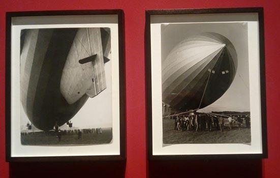 Foto di Zeppelin in mostra al Vittoriano