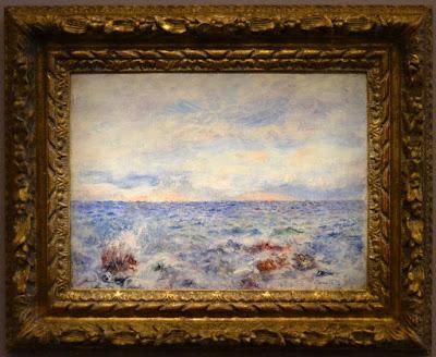 17 Pierre-August Renoir, Marina a Capri, 1881