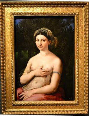 18, Raffaello, Ritratto di donna nei panni di Venere (Fornarina), 1519-20, Roma, Palazzo Barberini