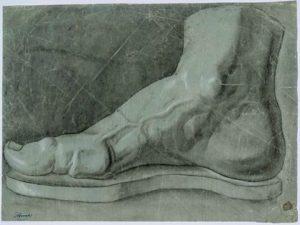 5-Felice-Barnabei-disegno-di-un-piede-300x225